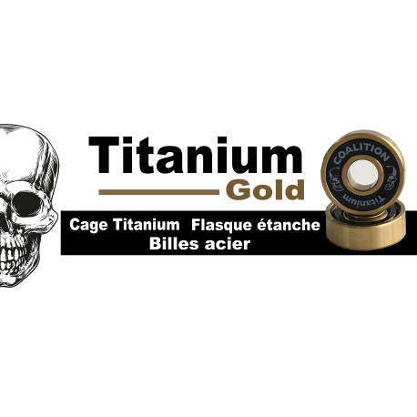 Roulements Coalition Bearing titanium