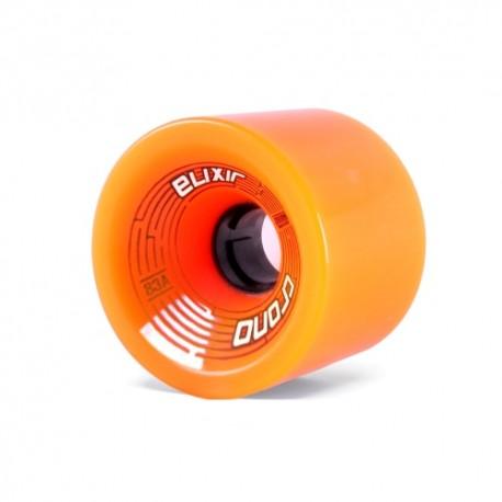 Roues de Longboard Elixir Chrono Orange recommandé pour Downhill