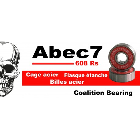Roulements Coalition Bearing Abec 7