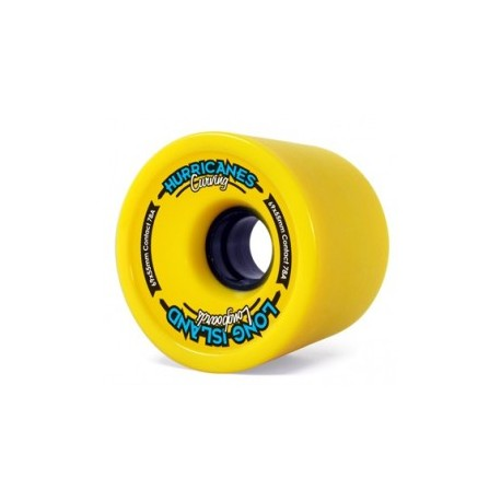 ROUES LONG ISLAND CURVING 69x55 MM - 78A - Jaunes