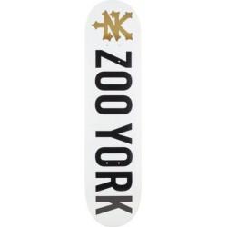 Board Zoo York logo black white 7.9