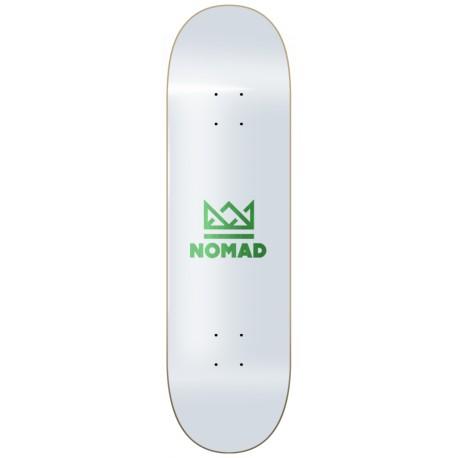 "Board NOMAD logo green 8""75"