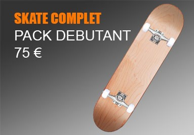 Skate complet pas cher : Seulement 75 €